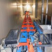5 power free floor conveyor birail xd37 45 05