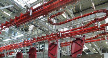 Power & free conveyors